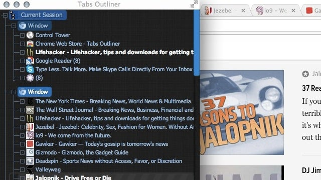 Tabs Outliner Keeps Track of All Your Tabs In an Easy to Browse Tree