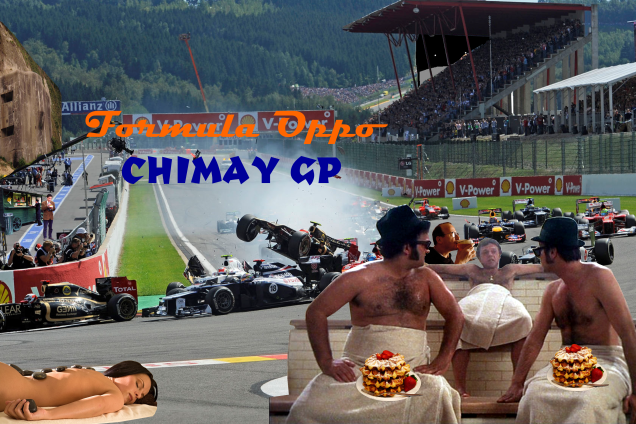 Formula Oppo: The Chimay GP Qualifiying Results