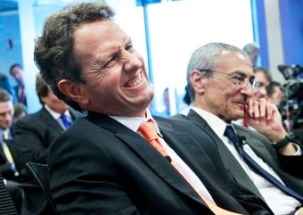 Everyone's Convinced That Tim Geithner Worked for Goldman Sachs