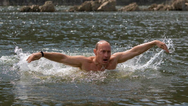 Putin: I Think Obama Would Save Me If I Were Drowning