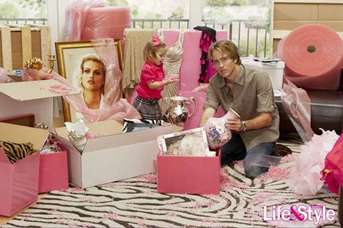 Larry Birkhead Will Never Reveal The Name Of His Pink Packing Foam Supplier