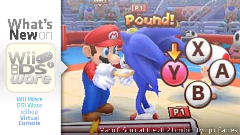 Mario and Sonic in the January 26, 2012 Nintendo Download
