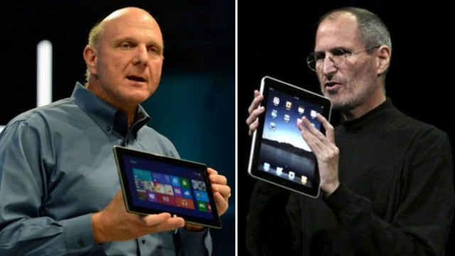 Why Apple Won't Sue Microsoft Over Surface
