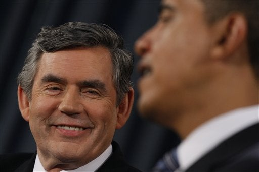 Gordon Brown's Man-Crush on Obama