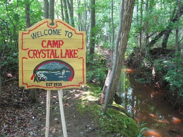 Enjoy a Rare Visit to Friday 13th's Real-Life Camp Crystal Lake