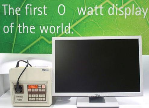 """Fujitsu's """"Zero-Watt"""" Monitor Uses Zero Power in Standby Mode"""