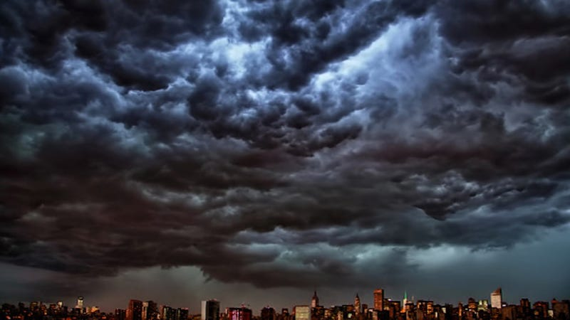 Derecho Hits New York: Here's a Picture of the New York City Skyline at Approximately 8 PM (UPDATED)