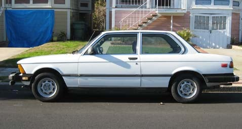 1983 BMW 320i With Rare David Hasselhoff Option