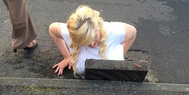 Teen Gets Trapped in Storm Drain While Trying to Save Her Cell Phone