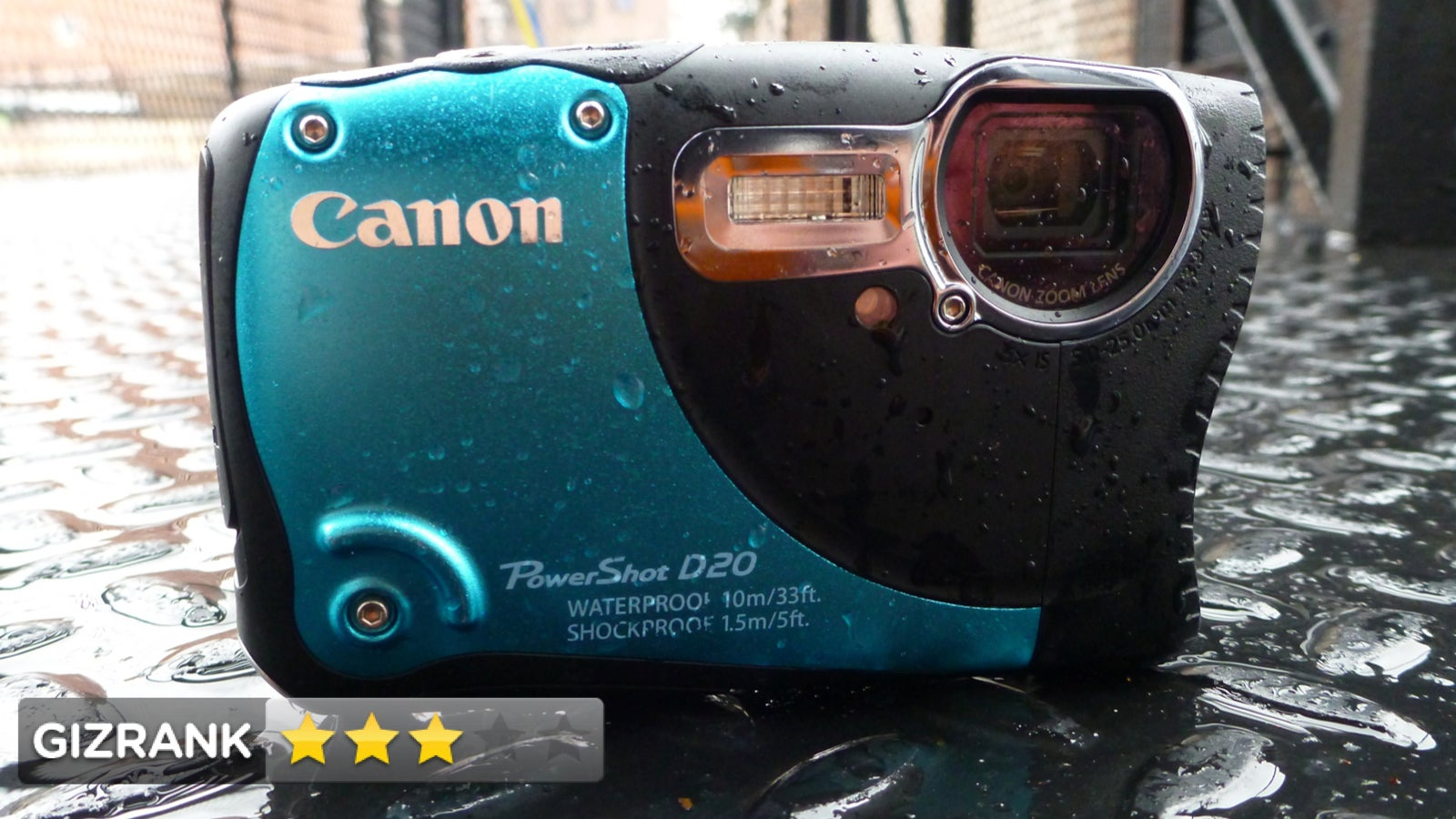 canon powershot d20 review tough camera weak performance