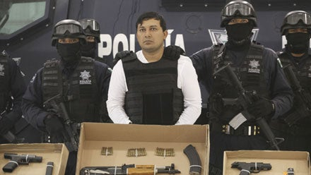 Mexico Nabs Another Cartel Leader