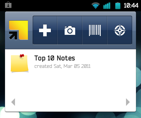 Springpad for Android Updates, Adds Integration with Other Apps, Customizable Widgets