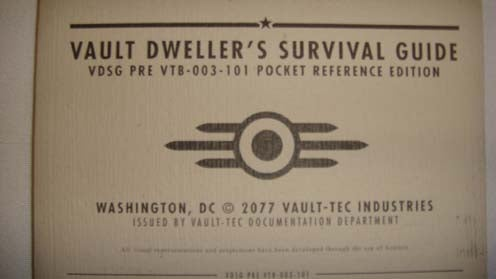The Official Vault Dweller's Survival Guide In Pictures