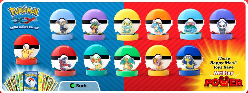 The Next McDonald's Happy Meals Have Pokémon Inside