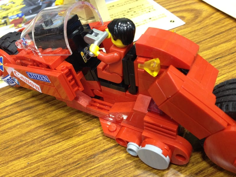Why Aren't There Official Akira LEGO?