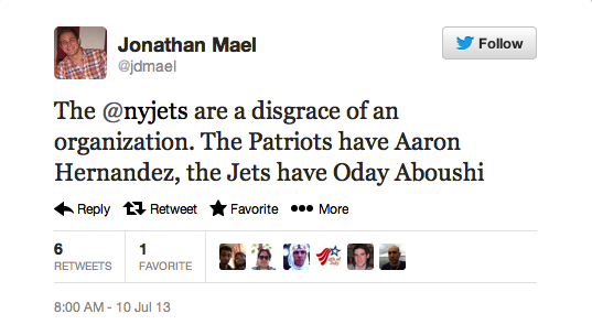 Jets Lineman's Palestinian Heritage Is A Dog Whistle For Bigots