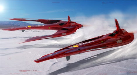Ferrari X-Racer Concept: A Balls-Out, Flying Grand Prix Car