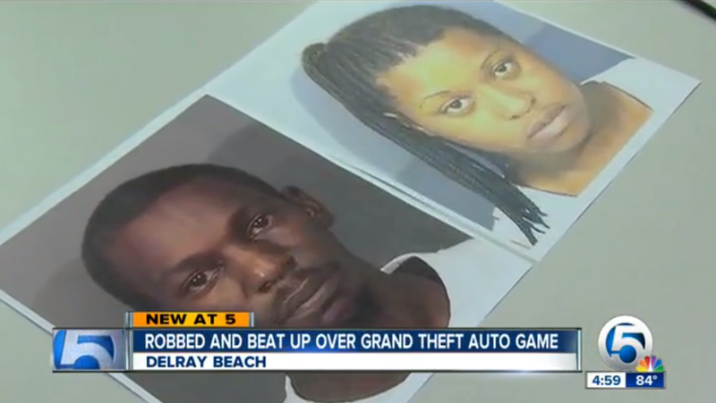 Mentally Challenged Man Kicked, Punched for His New GTA V Game