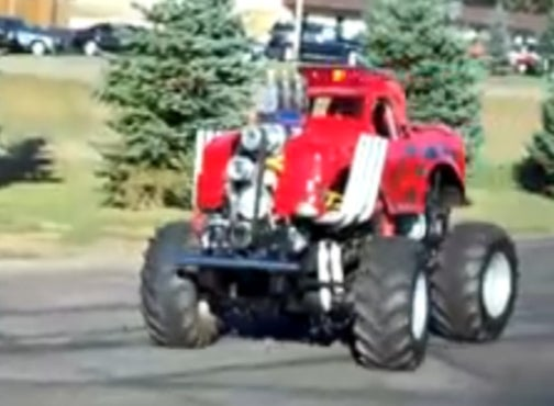 600 HP Mini-Monster Truck: Sound And Fury In A Tiny Package