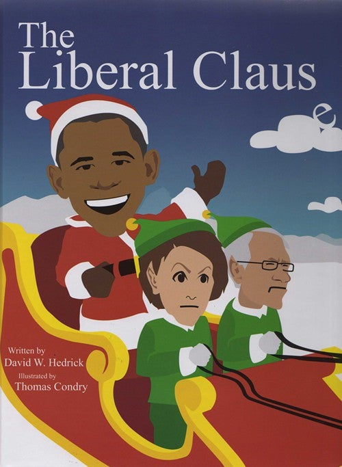 Obama the Grinch Steals Christmas In Tea Party Picture Book