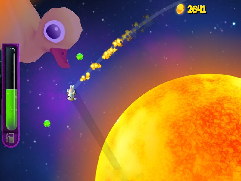 Don't Like Rabbids? Launch Them Into Space!