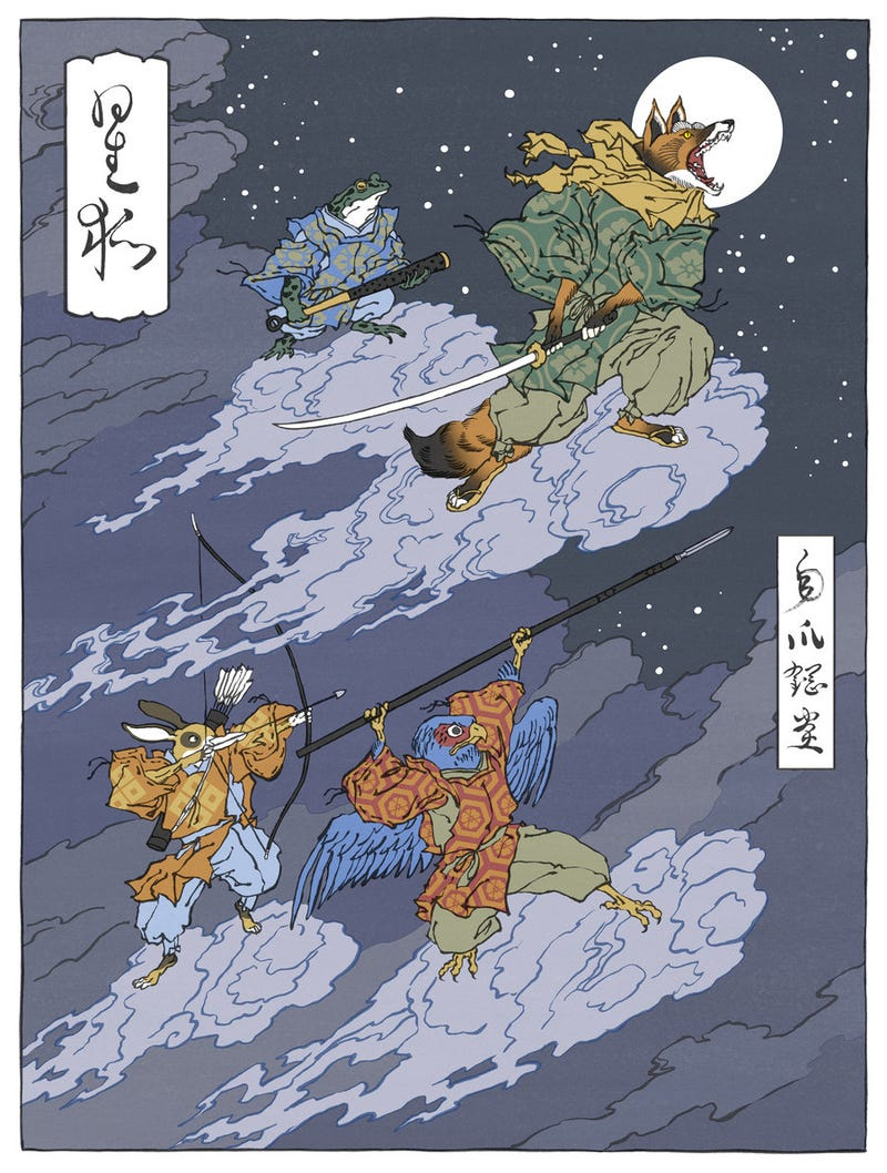 Now I Want Pokemon, Star Fox and Metroid to Happen In Feudal Japan