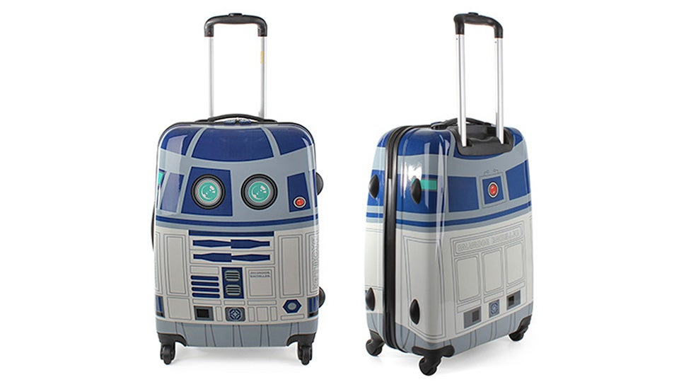 R2d2 luggage would be way cooler if it automatically - Maleta salvador bachiller ...