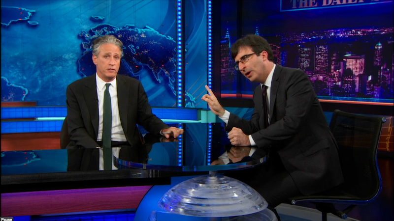 John Oliver: 'Congress Is the Time Warner Cable of Democracy'