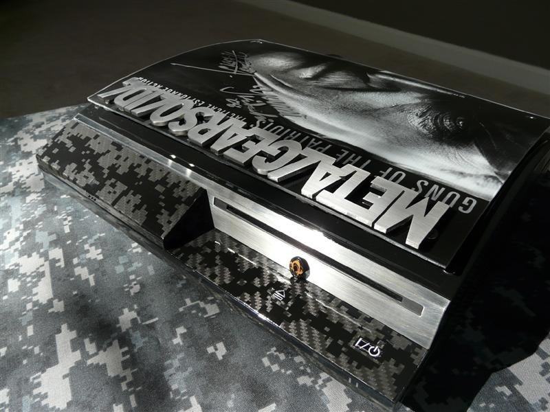 Custom Metal Gear Solid PS3 Back on eBay, Still Blows Minds for Child's Play Charity