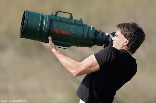 Why Should I Get Closer When I've Got This Lens?