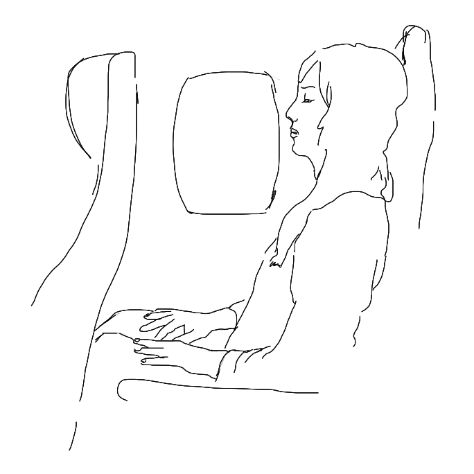 What Your Airplane Sleep Style Says About You