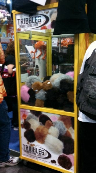Tribble machines, zombie solidarity bands and face-huggers: Comic-Con Radvertising!