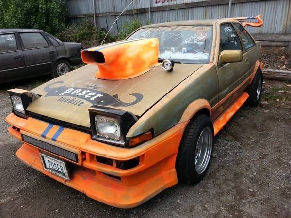 """The """"Poser Mobile"""" AE86 is for sale. (CPOCP)"""