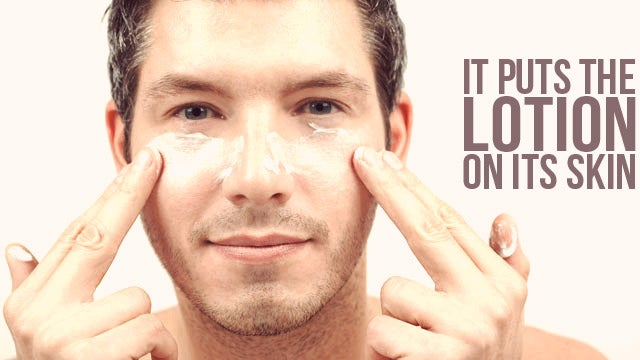 Men Keep Their Skin Dewy Fresh Because Their Jobs Depend On It