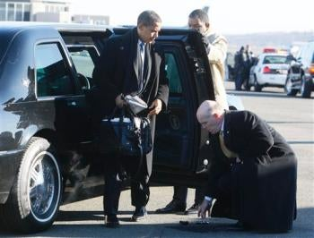 Breaking News: Obama Dropped His BlackBerry