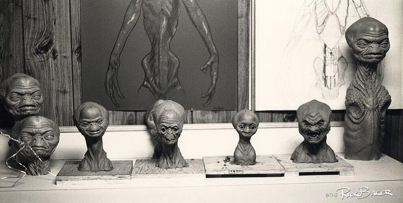 The very first E.T. designs would have scarred every kid's brain forever