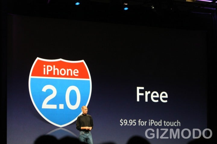 Free iPhone 2.0 Software Available in July