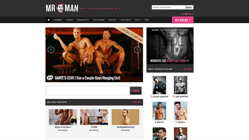 Like Naked Male Celebs? There's a Website Full of Penis Just for You.