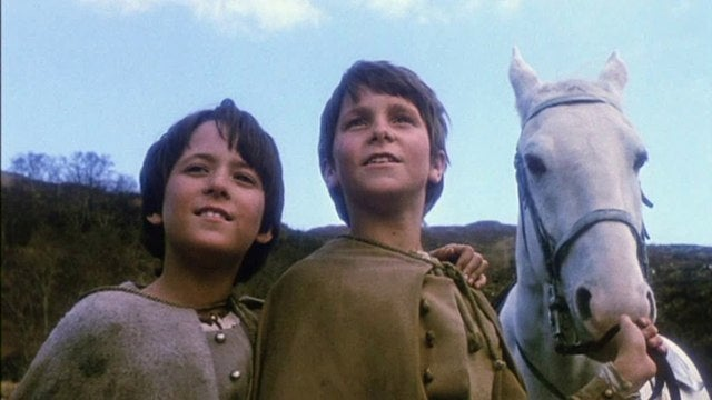Before he was Batman, Christian Bale was Jum-Jum the Swedish boy from the Land of Faraway