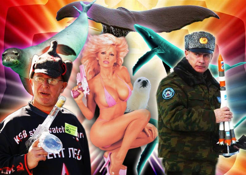 Pamela Anderson, Putin, And Vodka: A Russian SUV Manifesto