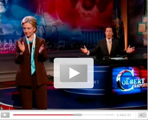Clinton, Obama, Edwards On Colbert