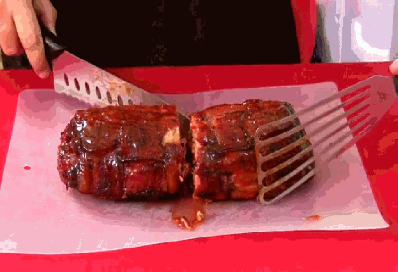 I Can't Stop Looking at This Slow-Motion Bacon Explosion GIF