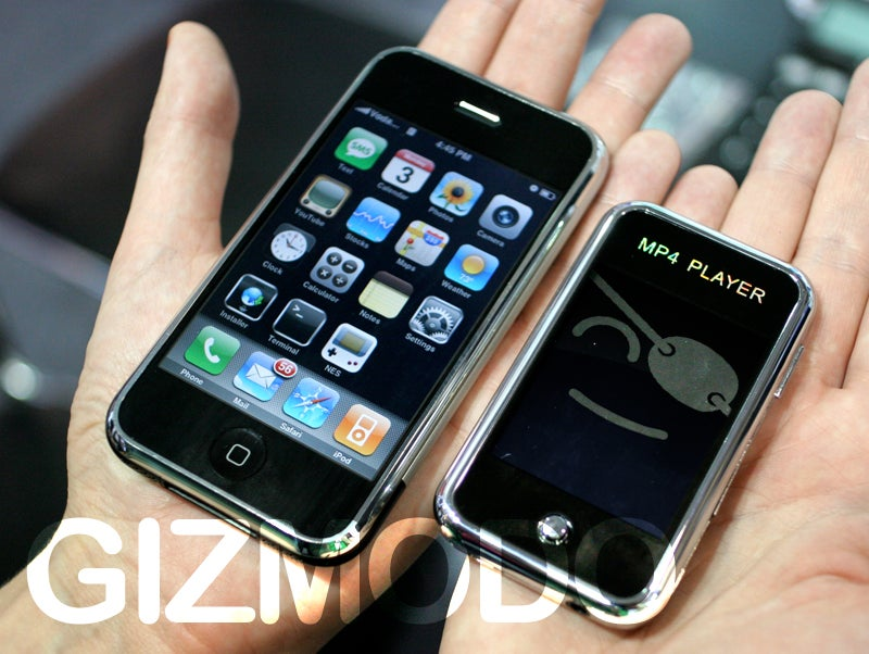 Photo of the Not-iPhone Nano