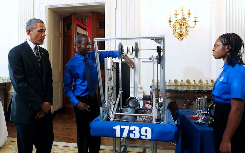 Awesome Girls Show Off Inventions at the White House Science Fair
