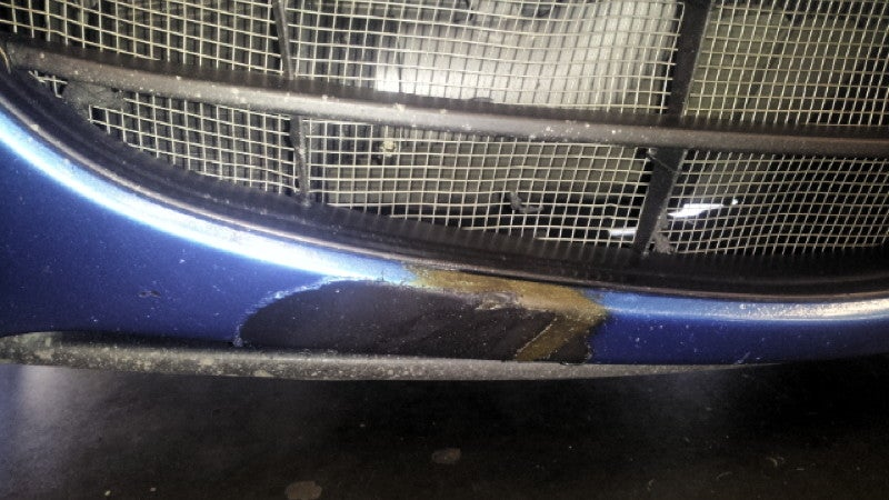 The Downside Of Drafting At Daytona Is A Melted Bumper