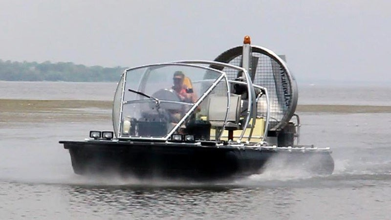 A Hovercraft That Isn't Afraid of Giant Waves