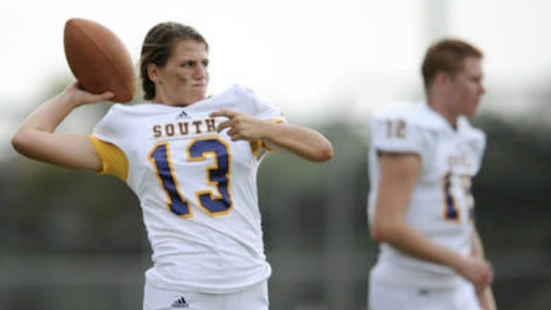 For Possibly the First Time in Florida's History, a Girl Could Play High School Quarterback for a Hot Second