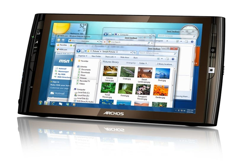 Should We Be Excited About the Archos9 Windows 7 Tablet Netbook?