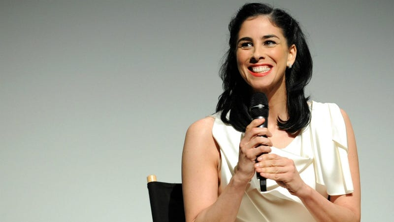 Sarah Silverman Hops On The Straight Talk Express About Adoption, Depression