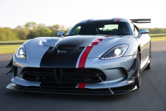 Guess Those Rumors Of The Supercharged Viper Motors Being Delivered To Dodge  Were Untrue. Still Awesome Though